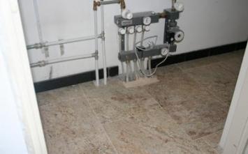 Aanbieding vloertegels - Vloerverwarming, Vloerverwarming na oplevering